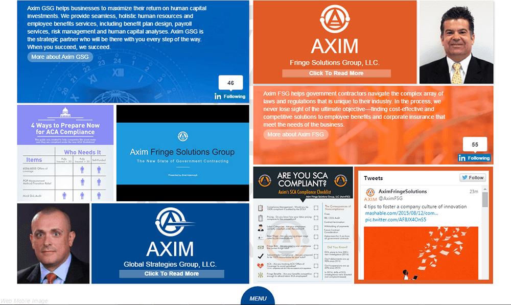 Axim screenshot