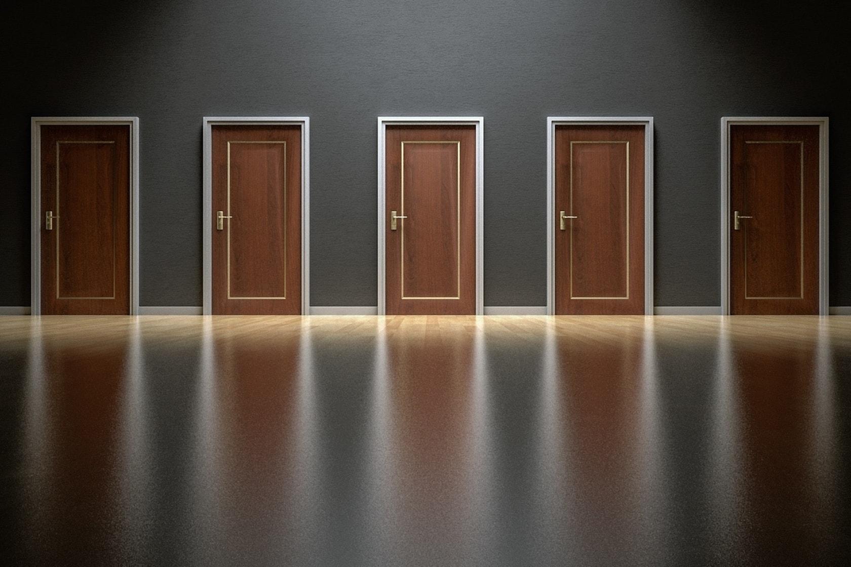 Choose A Door - Small Business Website Builder vs Custom Website Design