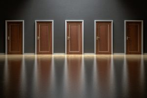 Choose A Door - Small Business Website Builder vs Custom Website Design